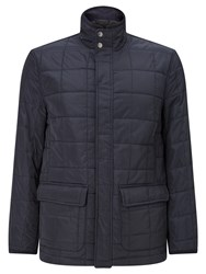 John Lewis Quilted Nylon Jacket Navy
