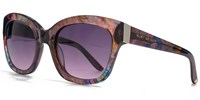 Kurt Geiger 26Kgp002 Purple Square Sunglasses