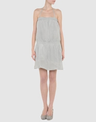 Beija Short Dresses Light Grey