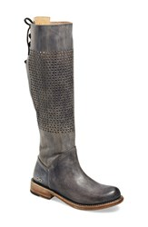 Women's Bed Stu 'Cambridge' Knee High Leather Boot Black Driftwood