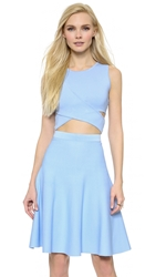 Jonathan Simkhai Crossover Crop Top