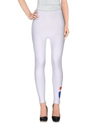 T By Alexander Wang Leggings White