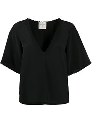 Forte Forte Embroidered Trim Blouse 60