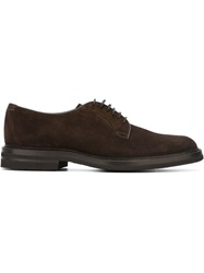 Henderson Fusion Classic Derby Shoes Brown