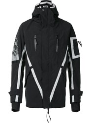 11 By Boris Bidjan Saberi Reflective Jacket Black