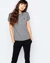 Fred Perry Twin Peak Polo Grey