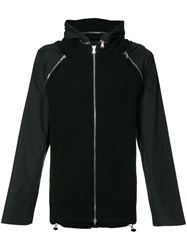 Mostly Heard Rarely Seen Hooded Jacket Black