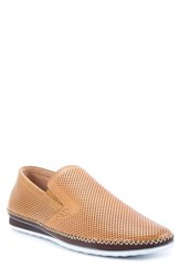 Zanzara 'Merz' Slip On Cognac Cognac Leather