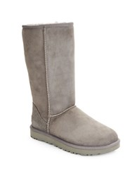 Ugg Classic Tall Ii Shearling Lined Boots Grey