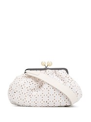Max Mara Aquile Shoulder Bag White