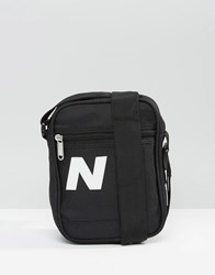 New Balance Chill Flight Bag In Black Blue