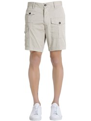 Dsquared Cotton Twill Cargo Shorts