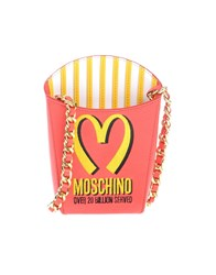Moschino Couture Handbags Red