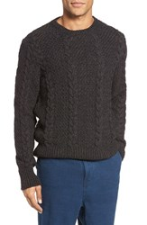 Eidos Napoli Men's Ollie Cable Knit Wool Sweater