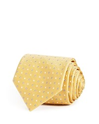 Bloomingdale's The Men's Store At Large Alternating Dots Classic Tie Yellow