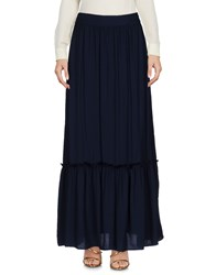 Splendid Long Skirts Dark Blue