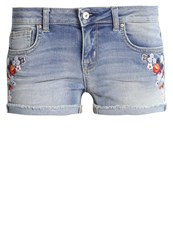 Ltb Denim Shorts Sueno Wash Bleached Denim