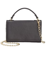 Giani Bernini Softy Leather Smartphone Wallet Crossbody Only At Macy's Black
