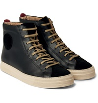 Oliver Spencer Ambleside Leather High Top Sneakers