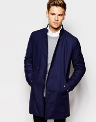 Asos Trench Coat Navy