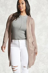 Forever 21 Plus Size Purl Knit Cardigan