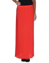Michael Michael Kors Long Skirts Blue