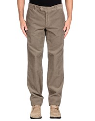 Blue Les Copains Trousers Casual Trousers Men Khaki
