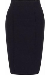 Amanda Wakeley Pixel Two Tone Cady Pencil Skirt Black