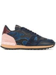 Valentino 'Rockrunner' Sneakers Blue