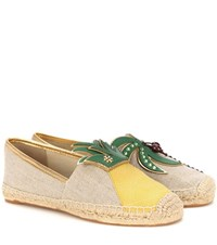 Tory Burch Castaway Flat Espadrilles Multicoloured