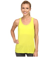 Zobha Angela Mesh Back Singlet Sulphur Springs Women's Workout Yellow