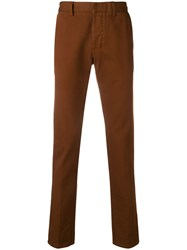 Ami Alexandre Mattiussi Chino Trousers Brown