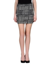 Noshua Mini Skirts Grey