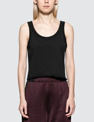 Alexander Wang Dry French Terry Tank With Distressed Hem