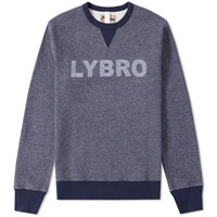 Nigel Cabourn X Lybro Crew Sweat Blue