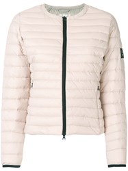 Ecoalf Padded Jacket Nude And Neutrals