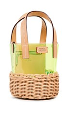 Frances Valentine Small Bucket Natural Yellow
