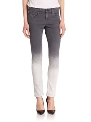 Rag And Bone The Dre Skinny Boyfriend Jeans Charcoal Ombre