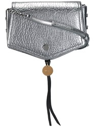 Jimmy Choo Arrow Crossbody Bag Metallic