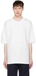 Sunnei White Oversized T Shirt