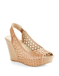 Kenneth Cole Reaction Soley Roller Wedges Beige