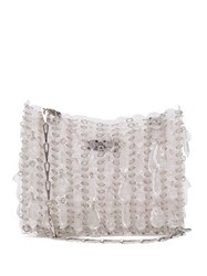 Paco Rabanne Iconic 1969 Acetate Shoulder Bag Clear