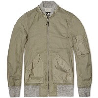 Adidas Consortium X Wings Horns Bomber Jacket Grey