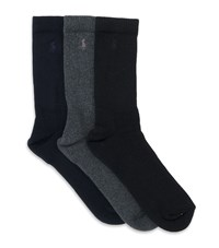 Polo Ralph Lauren Crew Socks 3 Pack Male