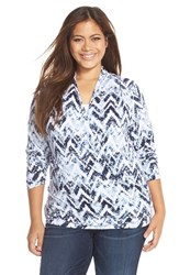 Plus Size Women's Tart 'Darlene' Top Faux Wrap Top