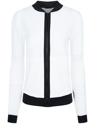 Ultracor White Thesis Micro Mesh Zip Jacket