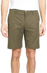 Tailor Vintage Men's Performance Chino Shorts Olive