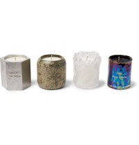 Tom Dixon Materialism Scented Candle Set Colorless