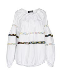 Nora Barth Blouses White