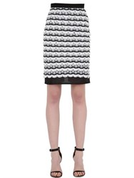 Dagda Embroidered And Fringed Pencil Skirt